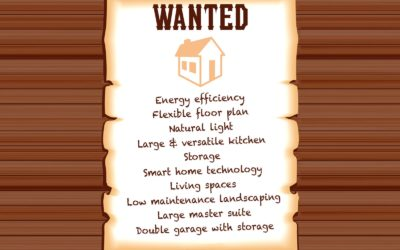 Top 'most wanted' features in a 21st century home and ways to describe them
