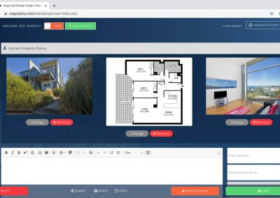 Copy Cat Real Estate Listing Generator - Property photo upload
